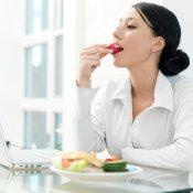 Правильное питание на работе